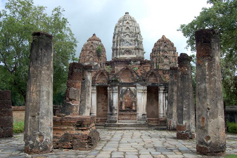 chedi in Sukhothai