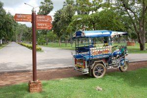 tuk-tuk Old Sukhothai