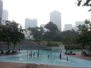 A public pool in kl